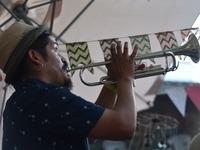 Lil' Pow Wow: Freiluftfestival im Café Pow bei bestem Wetter