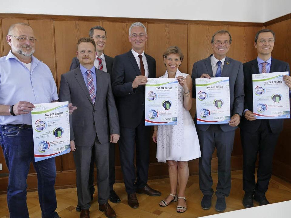Von links: Klaus Kessner, Alexander Ma...n, Klaus Eberhardt  und Alexander Graf    Foto: Jochen Fillisch