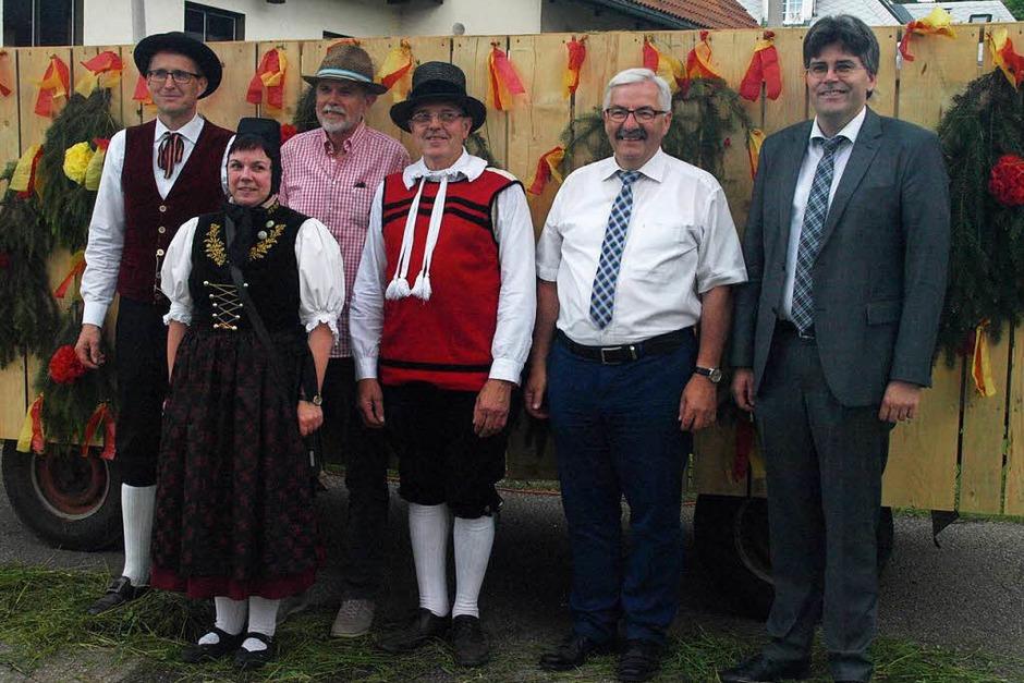 33 Gruppen beteiligten sich am Festumzug in Urberg. (Foto: Karin Stöckl-Steinebrunner)