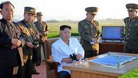 Nordkorea testet weitere Rakete - Angst vor einem Krieg