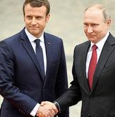 Macron spricht mit Putin Klartext