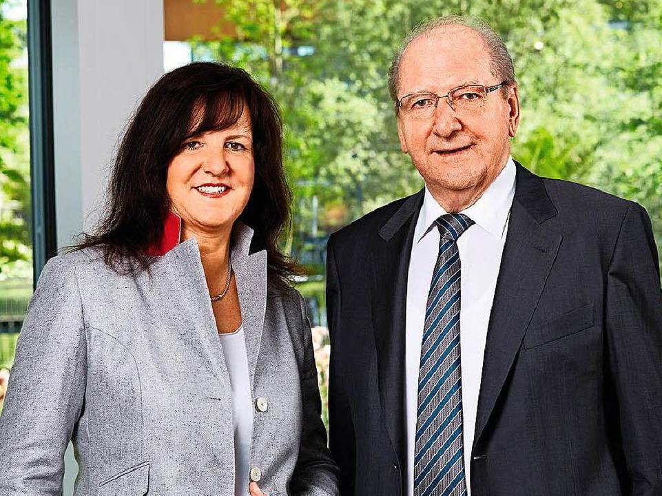 Firmengründer Hans Weber und Tochter Heidi  | Foto: Weber-Haus