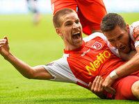 1860 steigt in die 3. Liga ab, Jahn Regensburg steigt auf