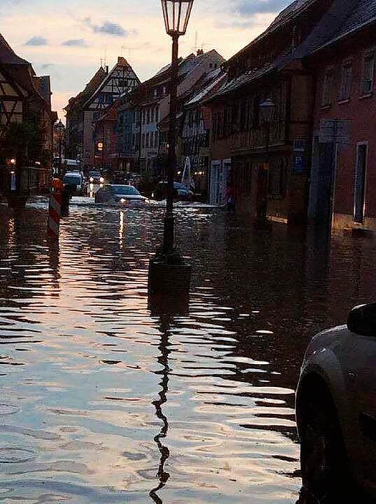 Hochwasser in Endingen  | Foto: Stefanie Jost