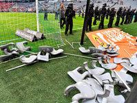 Münchner Skandalspiel: 10 Polizisten leicht verletzt