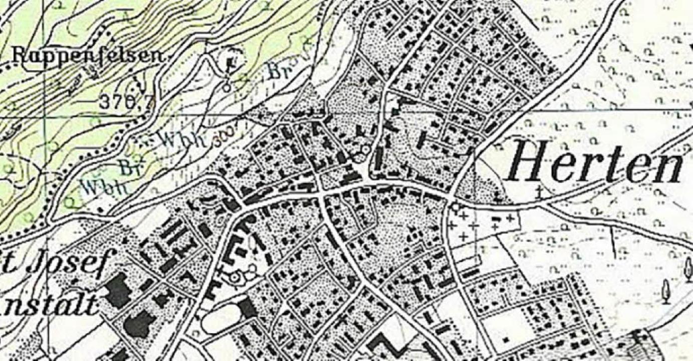 Seit rund fünfzig Jahren ist die Bezei...ichen topografischen Karte enthalten.   | Foto: Richard Kaiser