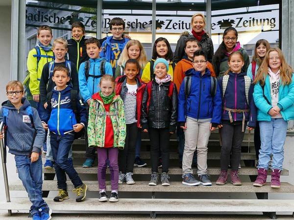 Klasse 4a der Staufenbergschule aus Durbach