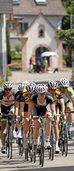 Den Kirchberg mit dem Rad erklimmen