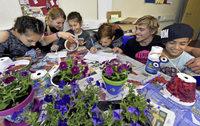 Feriencamp für 120 Kinder, von denen die meisten fliehen mussten