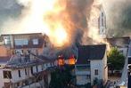 Fotos: Brand auf dem Uehlin-Areal in Schopfheim