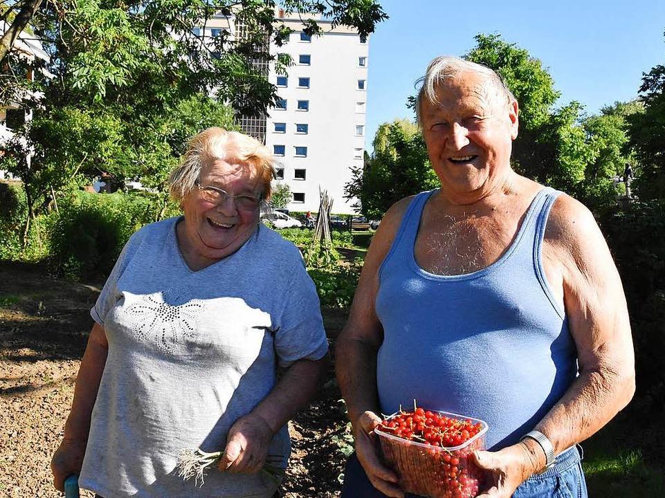 Englers müssen ihren Garten räumen.    Foto: Max Schuler