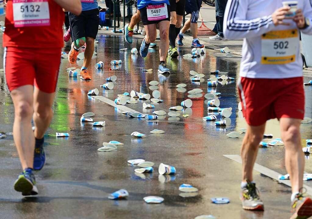Neustart für den Freiburg-Marathon.  | Foto: Rita Eggstein