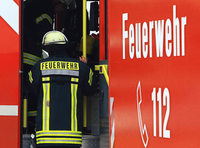 Flüchtlinge helfen in der Müllheimer Feuerwehr