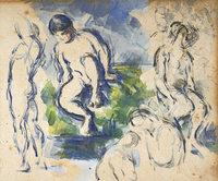 Kunstmuseum Basel zeigt Zeichnungen und Aquarelle Cézannes