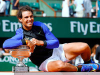 Rafael Nadal feiert sporthistorischen Triumph