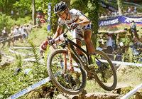 Mountainbikerin Sabine Spitz wird Zweite beim Swiss Bike Cup
