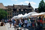 Fotos: Markt in Laufenburg