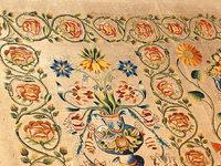 Spektakulärer Fund: Pfarrer entdeckt Altartuch aus dem 17. Jahrhundert