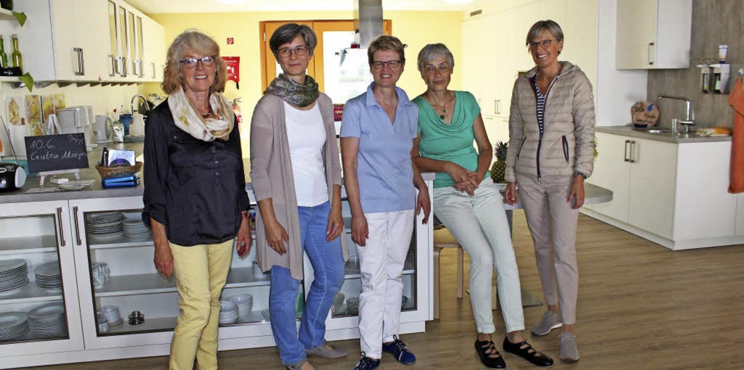 Hoher Besuch in einer ganz besonderen ...und Dorothea Störr-Ritter (von links)   | Foto: Theresa Ogando