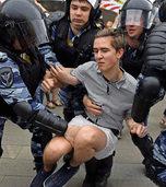 Wer schreit, wird festgenommen