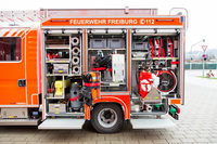 Großeinsatz der Feuerwehr bei Küchenbrand in Freiburg-Betzenhausen
