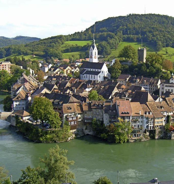 Blick auf Laufenburg in der Schweiz  | Foto: SWV