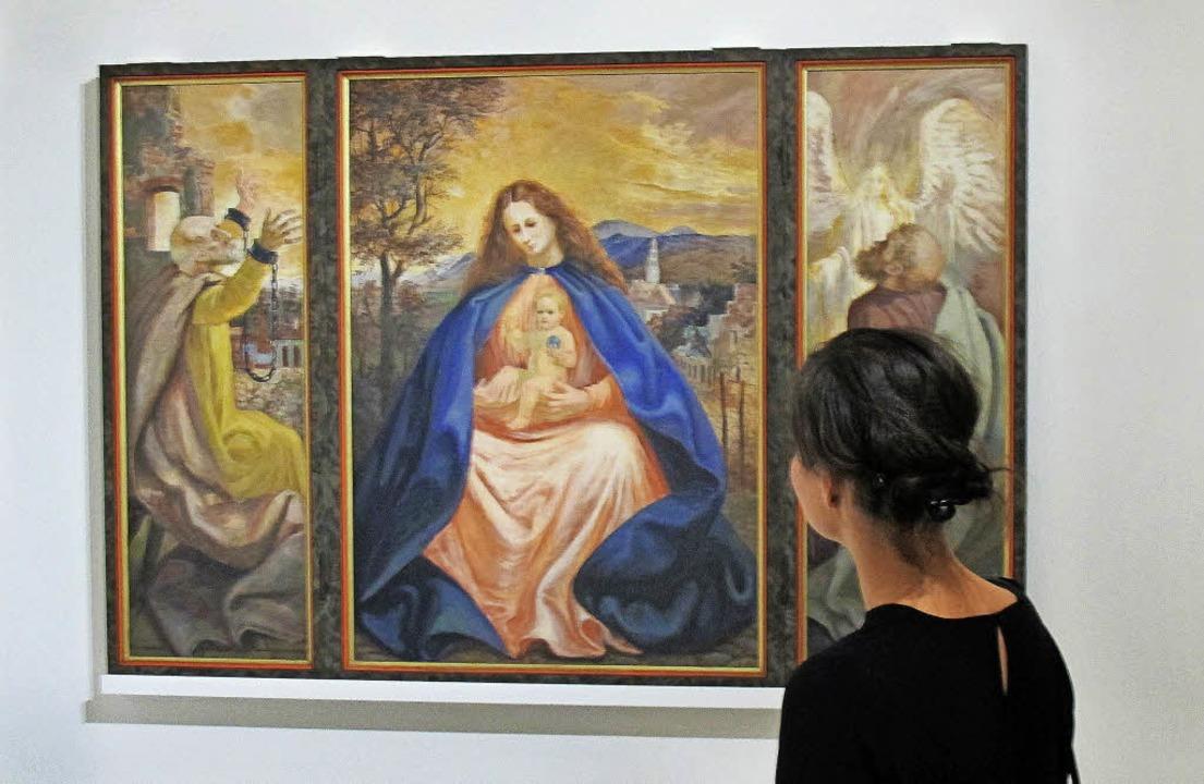Die Madonna malte Otto Dix während seiner Gefangenschaft in Colmar.   | Foto: dpa