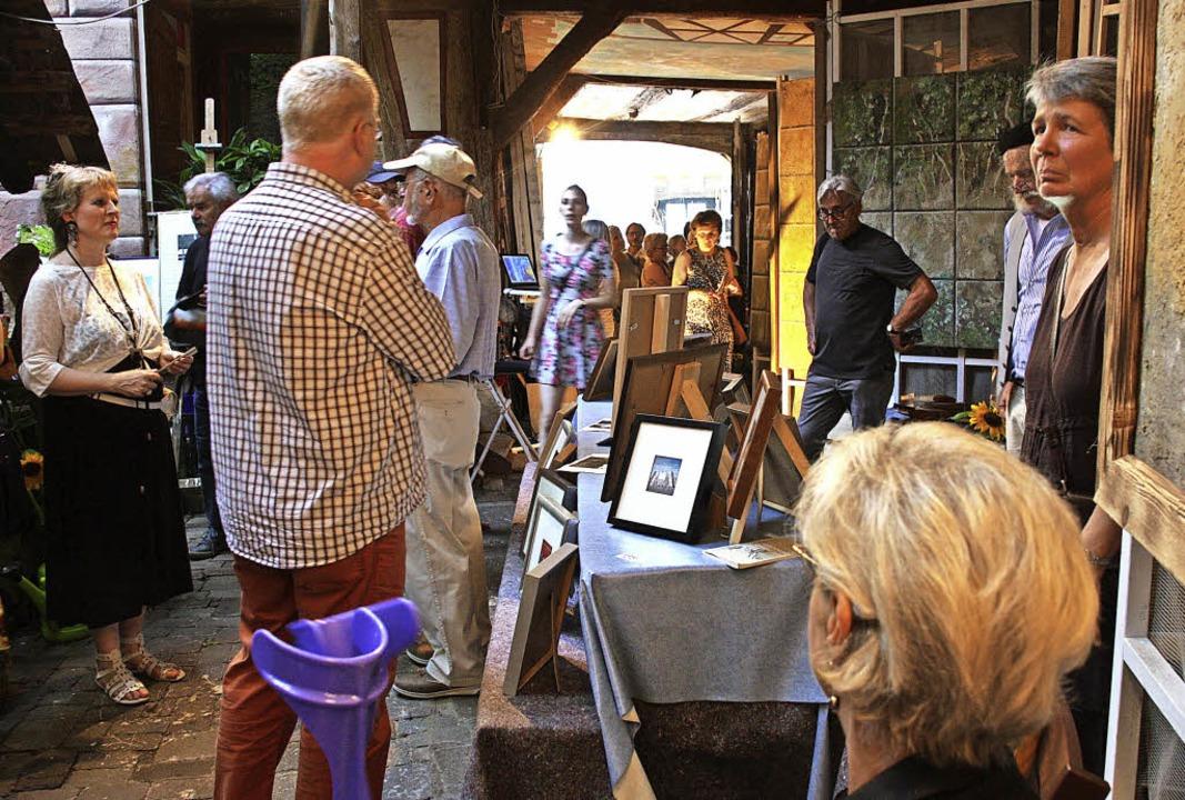 In den Ateliers der Riegeler Künstler ...el bei den Künstlertagen zu entdecken.  | Foto: Archivfoto: Christiane Franz