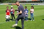Zisch-Aktionstag in der Freiburger Fußballschule