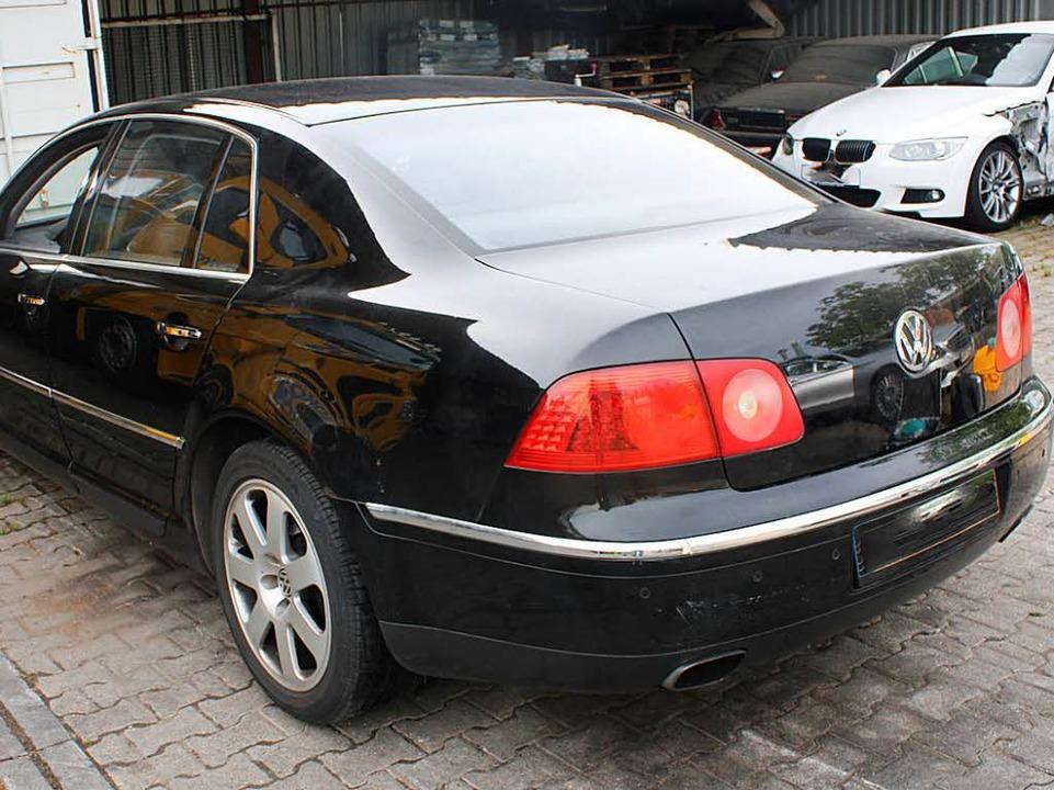 Wem ist der Wagen aufgefallen?    Foto: Polizei