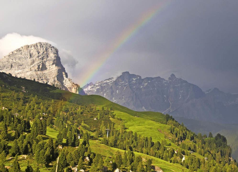 Urlauberparadies Südtirol: das  Grödner Joch   | Foto: Andrea Schiffner