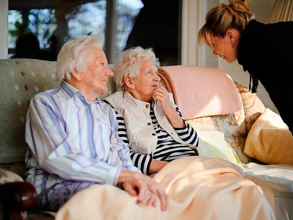 Auch Löffingen will ein Demenzdorf mit Seniorenwohngemeinschaften.      Foto: Christian Charisius/dpa