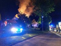 Großbrand in Wehr - 400 000 Euro Schaden