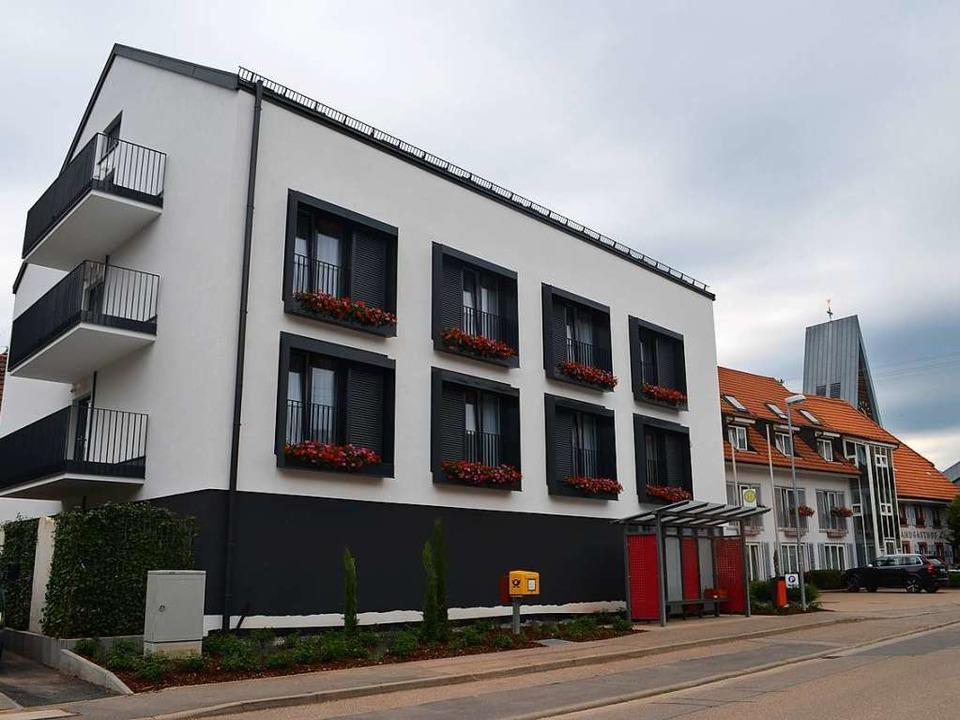 Das neue Gästehaus des Landgasthofs Löwen in der Schwarzwaldstraße   | Foto: Nikolaus Bayer