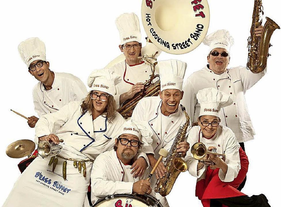 Brass Buffet richtet   musikalische Leckerbissen an.   | Foto: ZVG