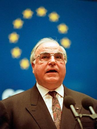 Am 2. Februar 1993 bei einer Rede im Europäischen Rat in Strasbourg.