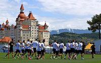 Die Nationalmannschaft bereitet sich auf den Confed Cup vor