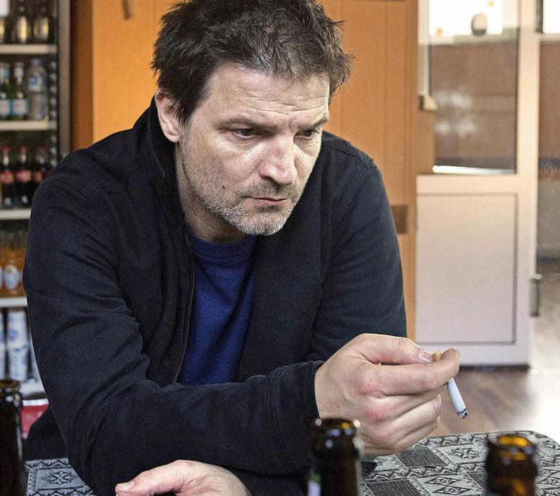 "Szene aus dem Kieler ""Tatort&#82...plant Roman Eggers (Misel Maticevic)?   | Foto: C. Schroeder (NDR)"