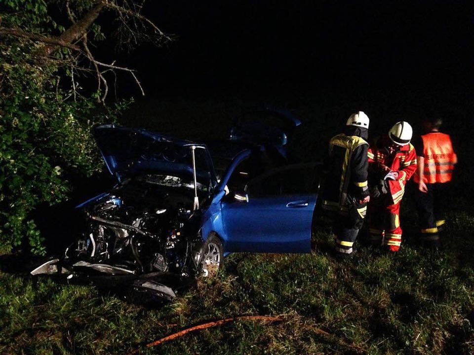 Die Verletzten wurden ins Spital nach Waldshut gebracht.     Foto: Feuerwehr Bad Säckingen