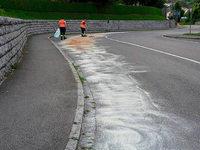 Ölspur von Hasel bis Wallbach