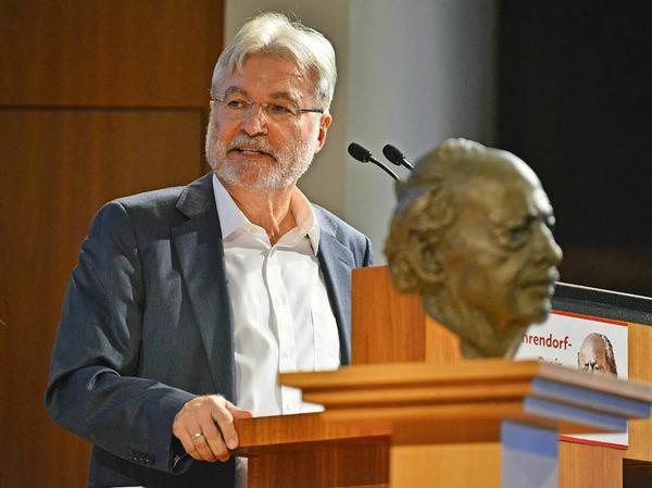 BZ-Herausgeber Thomas Hauser