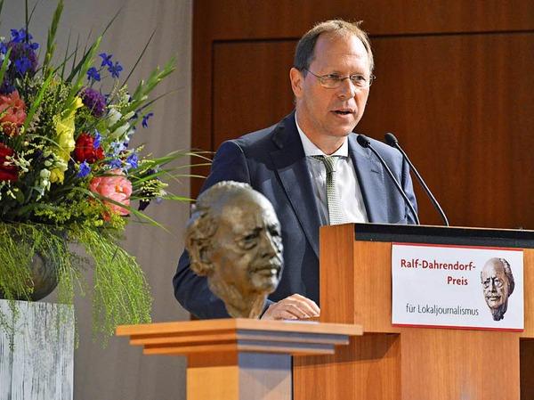 Thomas Fricker, Chefredakteur der Badischen Zeitung.