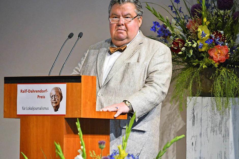 BZ-Verleger Christian Hodeige (Foto: Michael Bamberger)