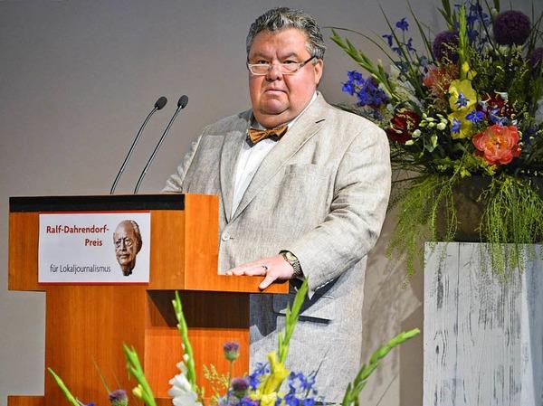 BZ-Verleger Christian Hodeige
