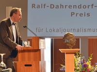 Ralf-Dahrendorf-Preis für Lokaljournalismus geht an Marc Rath