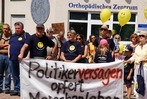 Fotos: Demonstration zum Erhalt des Spitals Bad Säckingen