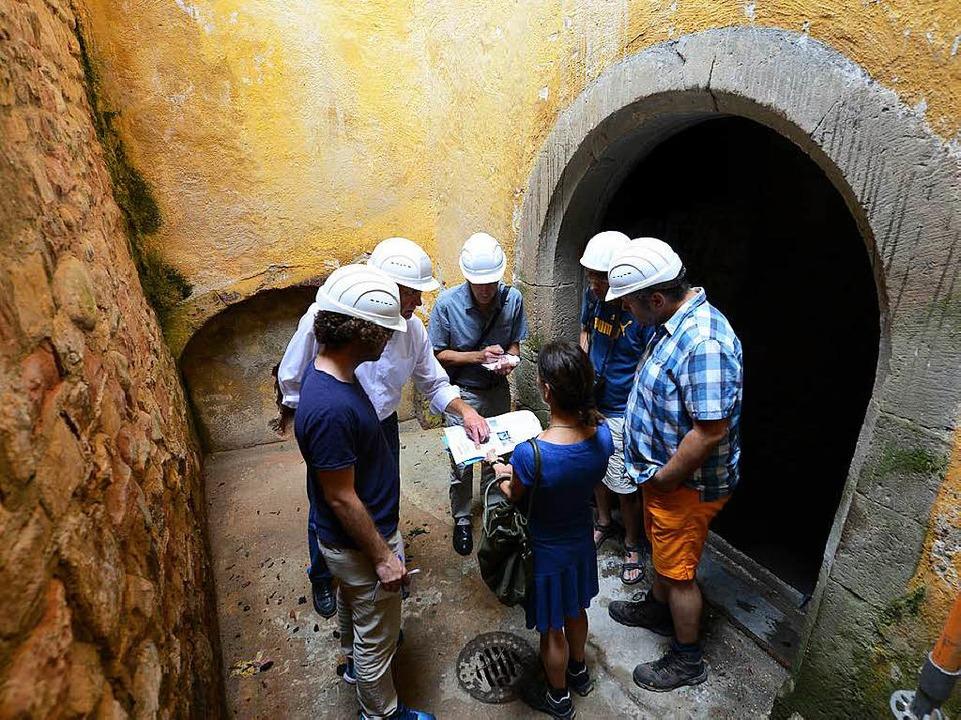 Auch die alten Gewölbekeller stehen Besuchern künftig offen.  | Foto: Rita Eggstein