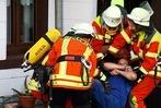 Fotos: Raumschaftsübung der Feuerwehren in Rickenbach