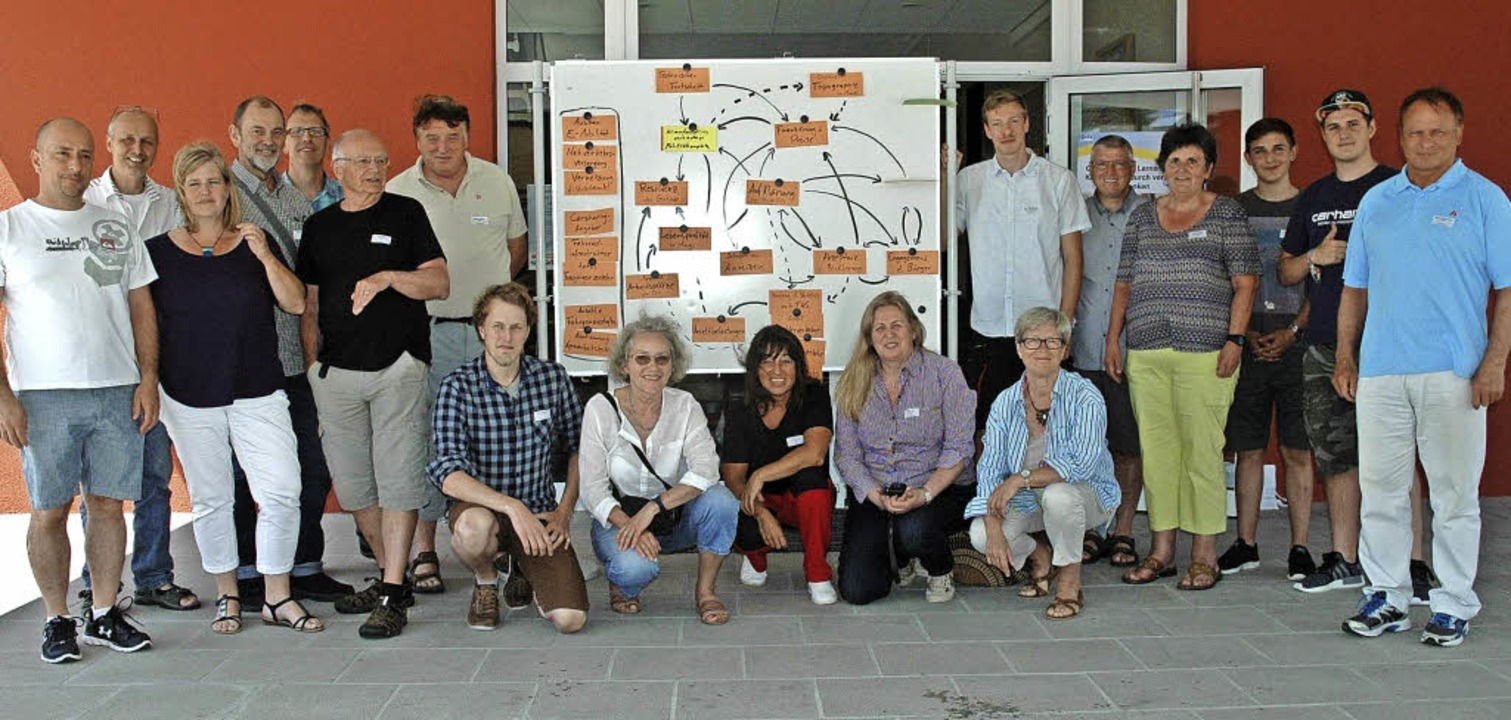 Rund 20 interessierte und engagierte  ...beteiligten sich am Workshop in Murg.   | Foto: Brigitte Chymo
