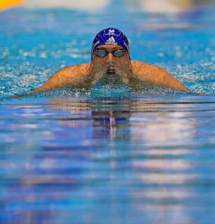 Marco Koch über die 200 Meter Brust  | Foto: DPA